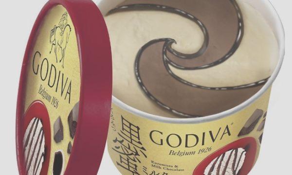 godivaコンビニアイス2020年黒蜜チョコ