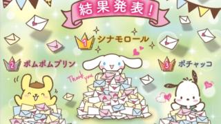 サンリオキャラクター大賞2020最終結果