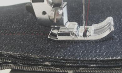 厚手の布も革も縫えるパワーミシン