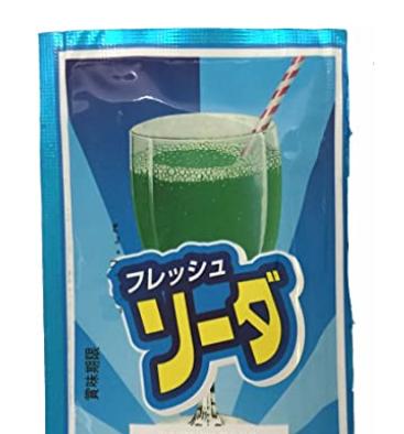 粉末メロンソーダ松山製菓