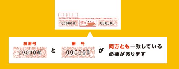 Wお年玉当選番号コード