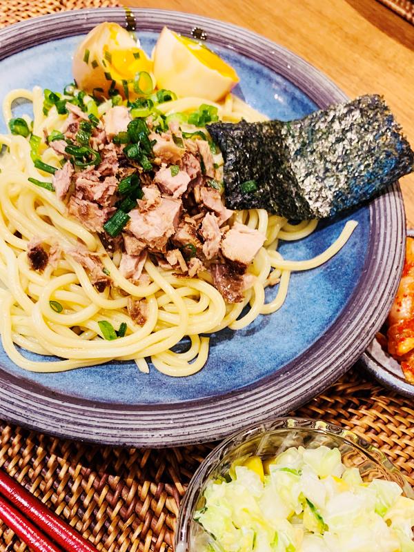 自宅おうち時間は麺類料理