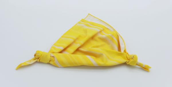 風呂敷バッグ簡単三角左右折り