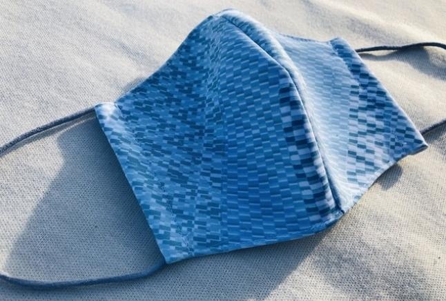 COOLBAMBOO竹マスク夏用ブルー