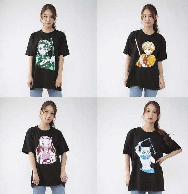 3鬼滅の刃Tシャツコレクション値段サイズ発売日