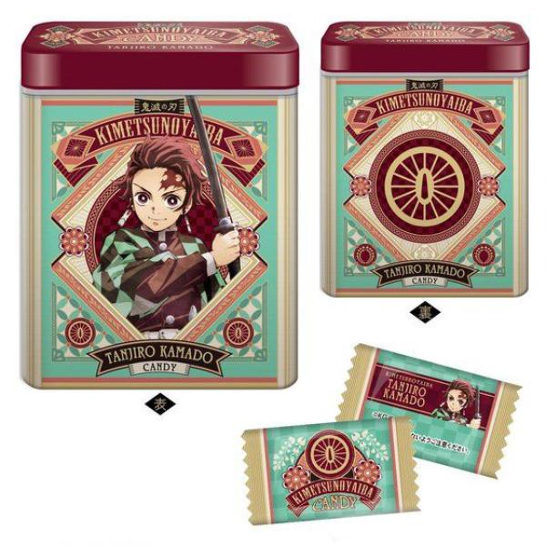 4鬼滅の刃キャンディ缶値段サイズ販売日