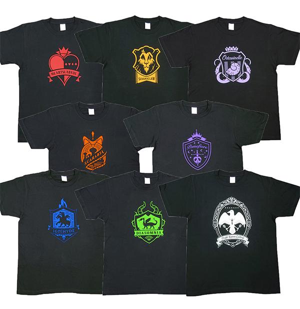 3ツイステアイコンTシャツラインナップ8種