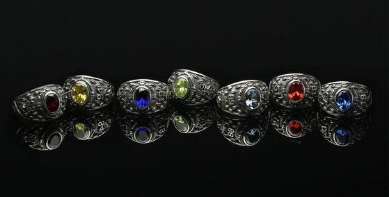 3ツイステ指輪・カレッジリング鏡ラインナップサイズ