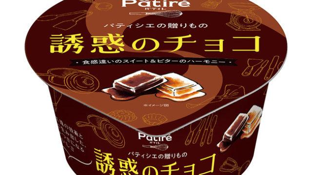 パティレ誘惑のチョコパティシエ監修のプチ贅沢アイス