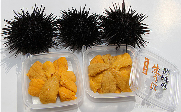 3ふるさと納税北海道ムラサキウニ食べ方