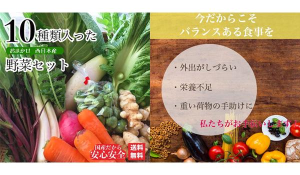 1フードロス通販野菜セット送料無料