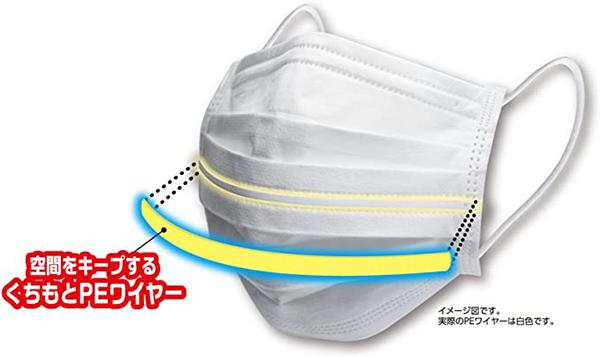 2ピップマスク小さめプリーツガード呼吸快適取扱販売