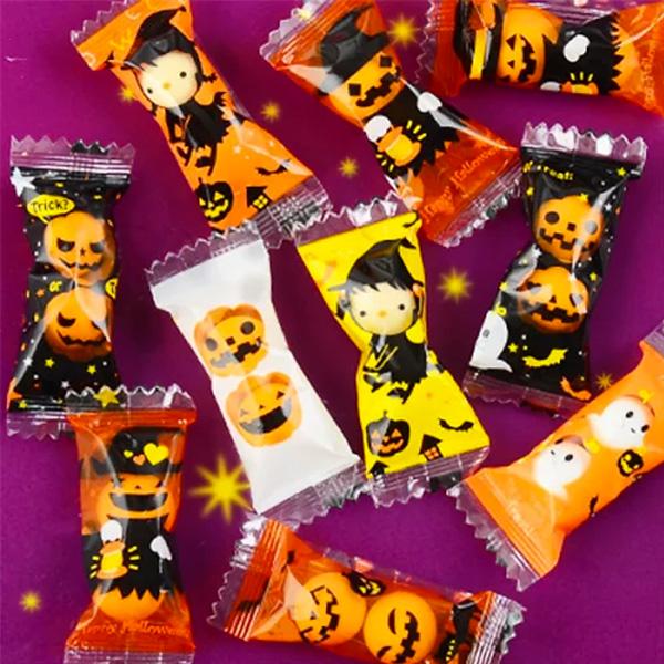 4ハロウィン配布お菓子個包装プチギフトお菓子
