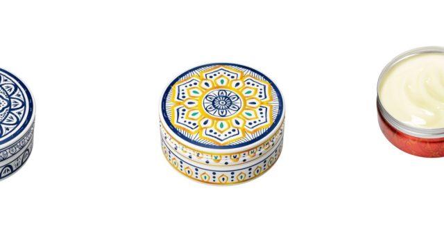 スチームクリーム・モロッコ陶器の限定デザイン缶発売!数量限定・全身用保湿クリーム
