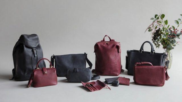 土屋鞄トーンオイルヌメ秋冬限定色が登場!15年以上続くロングセラーシリーズ