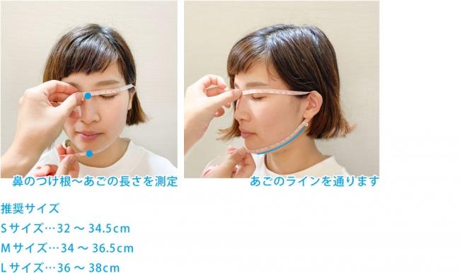 タクミバ夏マスク洗える伸縮ドライサイズ