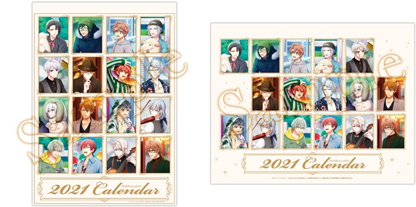 1アイナナカレンダー2021年壁掛け卓上予約通販