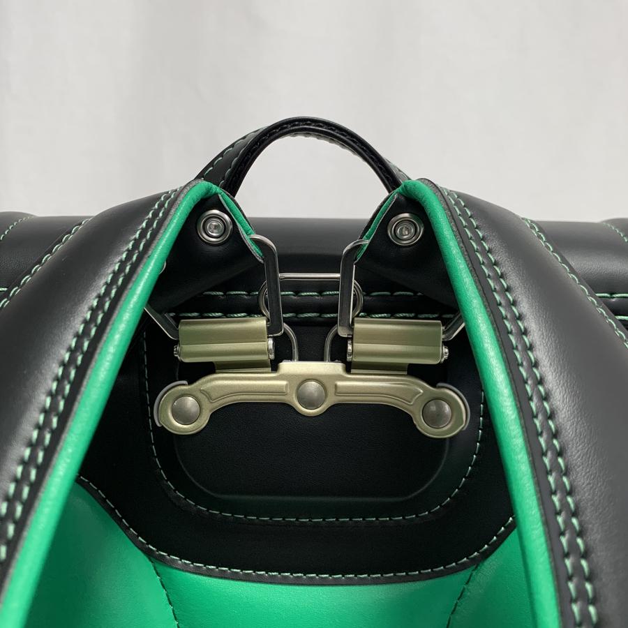 鬼滅の刃ランドセル炭治郎モデル黒緑色28
