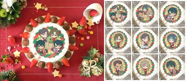 1.新テニスの王子様プリロールクリスマスケーキ2020予約通販