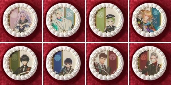 3.刀剣乱舞ケーキ種類取扱
