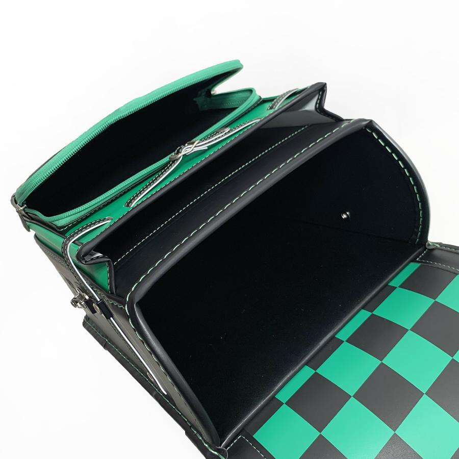鬼滅の刃ランドセル炭治郎モデル黒緑色34