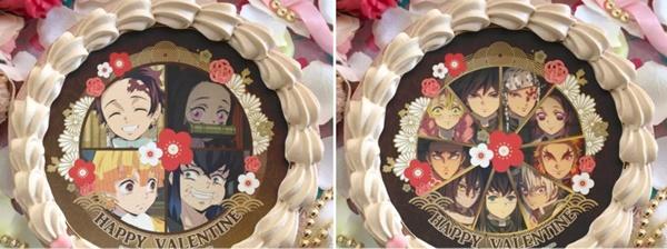 3.鬼滅の刃バレンタインケーキ種類取扱