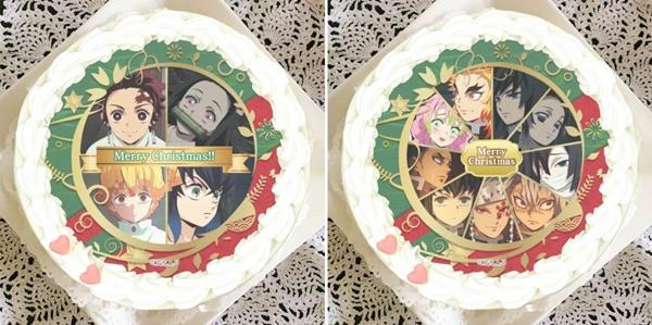 3.鬼滅の刃クリスマスケーキプリロール種類取扱