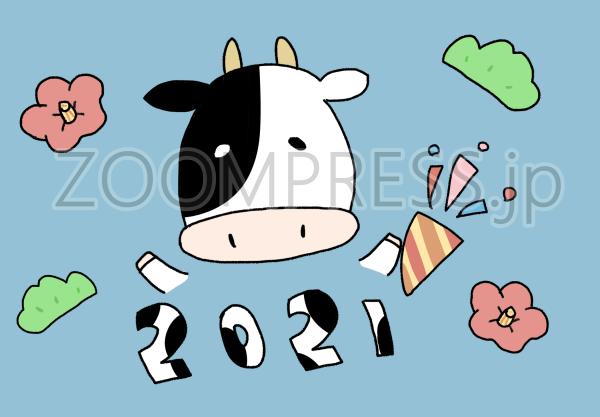 年賀状かわいいイラスト手描き無料画像素材nagisa web-005