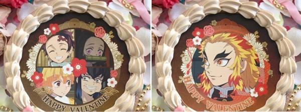 1.鬼滅の刃バレンタインケーキ予約通販