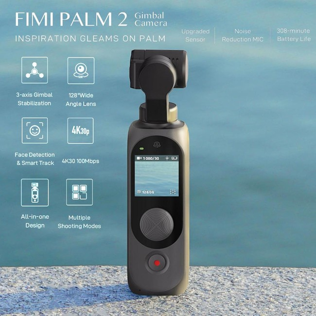 FIMI PALM2ジンバル付き小型カメラ3軸