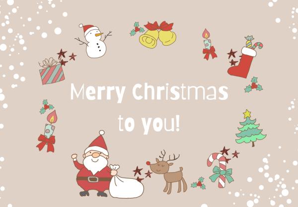 クリスマスカードイラスト無料かわいいおてんき-002