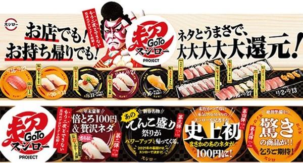 1.GOTO超スシロー1寒ぶり売り切れ終了予約通販