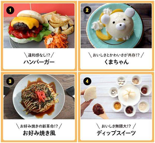 3.井村屋すまん種類取扱アレンジ