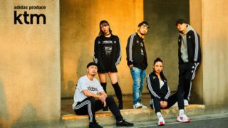 「ケツメイシ×アディダス」コラボメジャーデビュー20周年記念・トラックスーツ、Tシャツ発売!