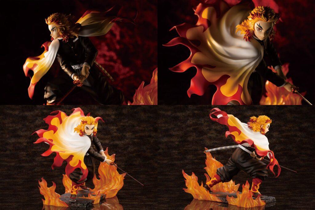 4-2鬼滅の刃「煉獄杏寿郎1-8完成品フィギュアARTFX J」予約・注文開始!きめつ・れんごくグッズ通販|コトブキヤ