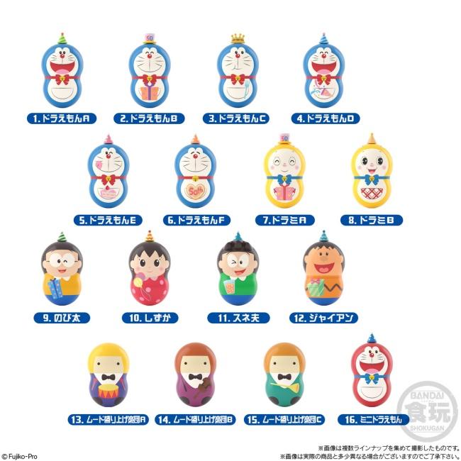 3ドラえもん「クーナッツ~50th anniversary~」予約・注文開始!グッズ(お菓子・食玩)通販・コンビニ取扱い