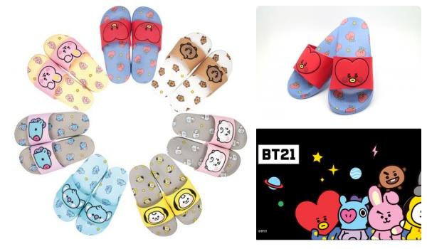 2BT21サンダルチケットぴあ通販サイトにて販売!「BT21 BABY」グッズ・発売日・種類|LINE人気キャラクター
