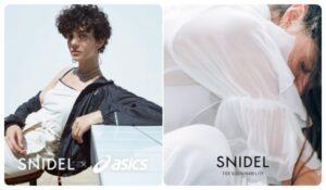スナイデルとアシックスの初コラボレーションアイテム発売!ブルゾン・ワンピース・サコッシュ3商品販売