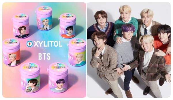BTSとキシリトールガムのコラボボトル10種類が数量限定発売!10月5日(火)から全国で販売開始!